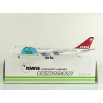 Avião Boeing 747-200f Northwest Airlines Sky500 1:500