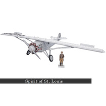 Avião Spirit Of St. Louis 2ª Guerra Antigo Brinquedo Montar