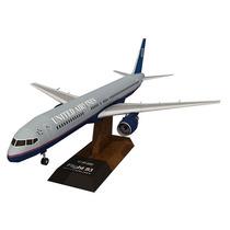 Maravilhosa Maquete United Airlines Para Montar!!
