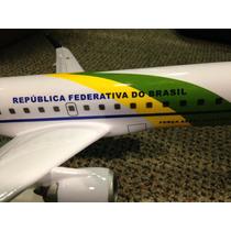 Maquete Avião Fab Presidencial Embraer 190