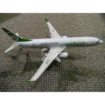 Maquete De Avião Comercial Webjet Boeing 737-800