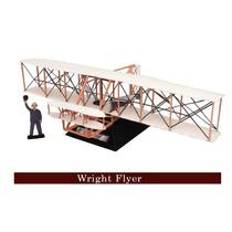 Avião Planador Irmãos Wright Santos Dumont Brinquedo Maquete