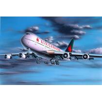 Modelo Plane - Revell 1:390 Boeing 747-200 Jumbo Jet