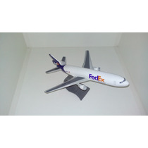 Maquete Em Resina Avião Dc-10-30 - Fedex