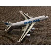 Miniatura Maquete Avião Comercial Pan Am Boeing 747 400