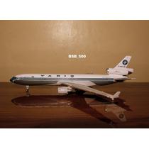 Avião Md-11 Varig Gemini Jets 1:400 15cm