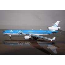 Avião Md-11 Klm Dragon Jc Wings 1:400 15 Cm