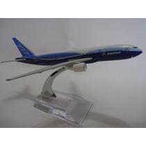 Airbus Boeing 777 Avião Miniatura