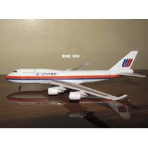 Avião Boeing 747-400 United Airlines Starjets 1:500