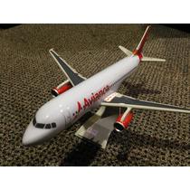 Maquete De Avião Comercial Avianca Airbus A319