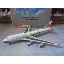 Avião Boeing 747-400 China Airlines 1:500 Miniatura Starjets