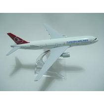 Avião Turkish Airlines Jato Miniatura