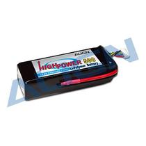 Bateria Lipo 6s 22.2v 3300mah 50c Align 6s1p Hbp33003