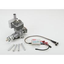 Motor Dle-30cc Gasolina Engine Rear Carburetor Aeromodelo