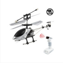 Mini Infravermelho Helicóptero Com 2 Luzes, Giroscópio