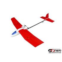 Aeromodelo Planador 2 Canais Flying Fox Completo Novo