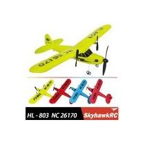 Hl803 Rc Avião Completo Frete Gratis