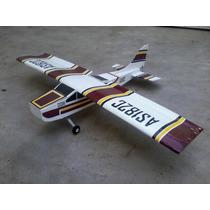 Kite Aeromodelo Aviao Cessna 182 4 Canais