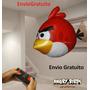 Angry Bird Voador C / Controle Remoto Importado Env Grátis