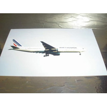 ( L - 380 ) F - 81 Foto Do Avião 777-200 - Air France