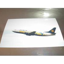 ( L - 380 ) F-21 Fotografia Do Avião 737 300 Varig - Copa