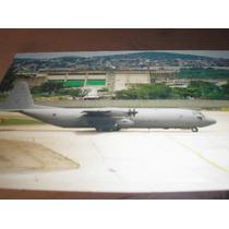 ( L-380 ) F - 114 Foto Do Avião Fab Hercules Reconhecimento