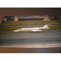 ( L - 380 ) F - 123 Foto Do Avião Fab Lear Jet Vu-35-a