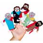 Dedoches Personagens Bíblicos 31 Personagens Eva Carlu