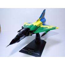 Miniatura Aviões Combate Jato Mirage Especial 30 Anos Fab