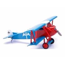 Miniatura De Avião Fokker D Vii Kit De Montar New Ray