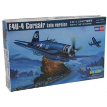 Modelo Plane - F4u-4 Versão Corsair Tarde 1:48 Hobbyboss