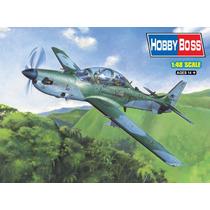 Modelo Plane - Brazillian Emb314 Super Tucano 1:48 Hobbyboss
