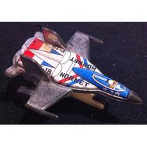 Brinquedo Antigo Avião Japonês Hornet F-18 Lata