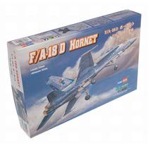 Modelo Plane - F A-18d 1:72 Hobbyboss Plastic Kit Miniatura