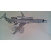 Maquete Em Resina Avião Erj-145 Sivan- R99a - Fab