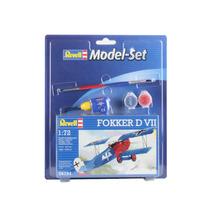 Modelo Plane - Revell 1:72 Set Fokker D Vii Bi Kit Set