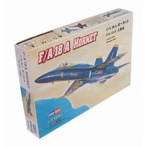 Modelo Plane - F A-18a 1:72 Hobbyboss Plastic Kit Miniatura