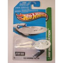 Ncc-1701 Uss Enterprise - Star Trek - 2013 - Hot Wheels