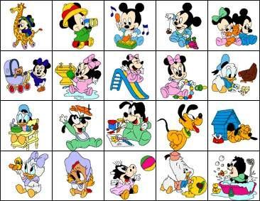 B53 Cole    O Bordado Comdorizado Disney Baby Minie Mickey
