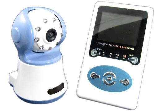Babá Eletrônica S/ Fio Áudio E Imagem Digital Infravermelho