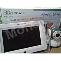 Baba Eletronica Powerpack Mtv-702 C/ Monitor S/ Fio 2.4ghz