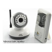 Baba Eletrônica Câmera Sem Fio 2.4g Visão Noturna+mic Bebe