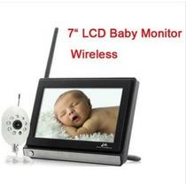 Baba Eletronica Tela 7´´ Monitor Wi-fi Video Visão Noturna
