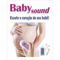 Monitor Ultrassom Doppler Fetal - Baby Sound B Contec