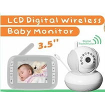 Babá Eletrônica Digibaby 3.5wireless D-8035w Branca - Bivolt