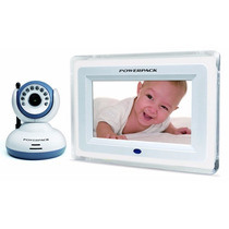 Baba Eletronica 2.4g Mtv702 Tela 7 Visão Noturna Mic Bebê
