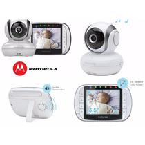 Babá Eletrônica Motorola Mbp36s Tela 3.5 Visão Noturna