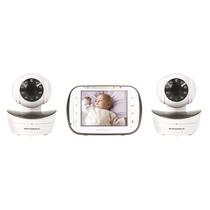Baba Eletrônica Motorola Mbp43 Com 2 Câmeras Modelo Novo!