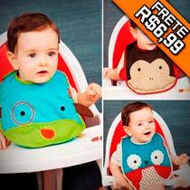 Babador Bebê Skip Hop Impermeável Babadores Infantil Carters