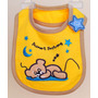 Babador Impermeável Velcro Bebê Menino Carter